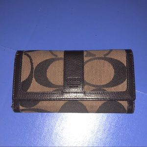 Coach Trifold Wallet Logo Design